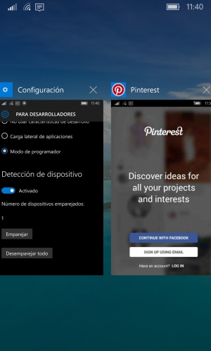 Instalar app Android en Windows 10 Mobile cuando APKToWin10M no funciona